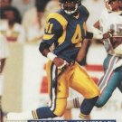 1991 Pro Set #734 Todd Lyght Los Angeles Rams RC