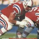 1991 Pro Set #740 Pat Harlow New England Patriots RC