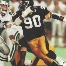 1991 Pro Set #744 Huey Richardson Pittsburgh Steelers RC