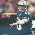 1991 Pro Set #745 Dan McGwire Seattle Seahawks RC