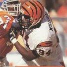 1991 Pro Set #747 Alfred Williams Cincinnati Bengals RC