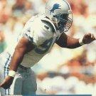 1991 Pro Set #749 Kelvin Pritchett Detroit Lions RC