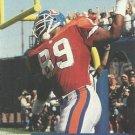 1991 Pro Set #759 Reggie Johnson Denver Broncos RC