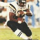 1991 Pro Set #768 Eric Bieniemy San Diego Chargers RC
