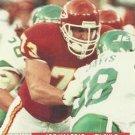 1991 Pro Set #779 Joe Valerio Kansas City Chiefs RC