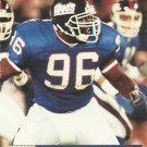 1991 Pro Set #784 Kanavis McGhee New York Giants RC