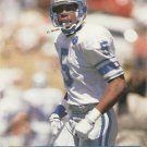 1991 Pro Set #787 Reggie Barrett Detroit Lions RC