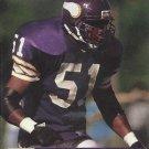 1991 Pro Set #794 Carlos Jenkins Minnesota Vikings RC