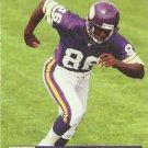 1991 Pro Set #797 Jake Reed Minnesota Vikings RC