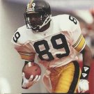 1991 Pro Set #802 Ernie Mills Pittsburgh Steelers RC