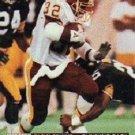 1991 Pro Set #805 Ricky Ervins Washington Redskins RC