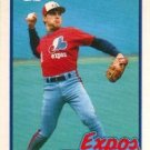 1989 Topps Traded Montreal Expos Team Set