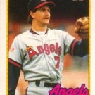 1989 Topps Traded #3T Kent Anderson California Angels