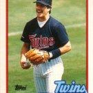 1989 Topps Traded #5T Wally Backman Minnesota Twins