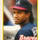 1989 Topps Traded #10T Geronimo Berroa Atlanta Braves