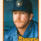 1989 Topps Traded #21T Bryan Clutterbuck Milwaukee Brewers