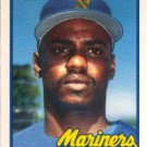 1989 Topps Traded #46T Gene  Harris Seattle Mariners RC