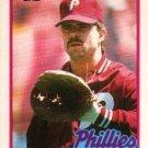 1989 Topps Traded #65T Steve Lake Philadelphia Phillies