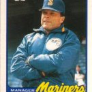 1989 Topps Traded #70T Jim Lefebvre Seattle Mariners