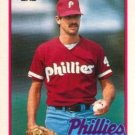 1989 Topps Traded #80T Larry McWilliams Philadelphia Phillies