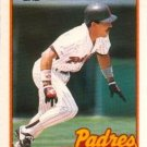 1989 Topps Traded #107T Luis Salazar San Diego Padres