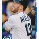 2014 Topps #9 Dustin Ackley Seattle Mariners