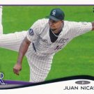 2014 Topps #13 Juan Nicasio Colorado Rockies