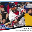 2014 Topps #22 Mike Napoli Boston Red Sox World Series