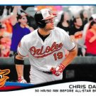 2014 Topps #47 Chris Davis Baltimore Orioles Highlights