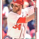 2014 Topps #100 Bryce Harper Washington Nationals