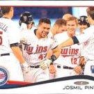 2014 Topps #162 Josmil Pinto Minnesota Twins RC