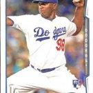 2014 Topps #197 Onelki Garcia Los Angeles Dodgers RC