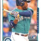 2014 Topps #256 Abraham Almonte Seattle Mariners RC