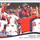 2014 Topps #259 David Ortiz Boston Red Sox World Series