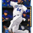 2014 Topps #322 Emilio Bonifacio Kansas City Royals