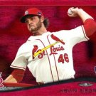 2014 Topps #344 Kevin Siegrist St. Louis Cardinals RC Red Foil