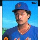 1986 Topps #18 Brent Gaff New York Mets
