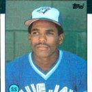 1986 Topps #23 Manny Lee Toronto Blue Jays
