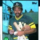 1986 Topps #29 Tony Phillips Oakland A's