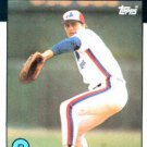 1986 Topps #89 Randy St. Claire Montreal Expos