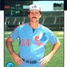 1986 Topps #93 Scott Thompson Montreal Expos