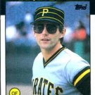 1986 Topps #114 Mike Brown Pittsburgh Pirates