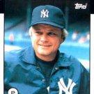 1986 Topps #135 Joe Niekro New York Yankees