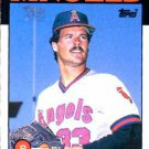 1986 Topps #179 Stu Cliburn California Angels