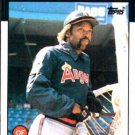 1986 Topps #190 George Hendrick California Angels