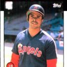1986 Topps #193 Daryl Sconiers Caifornia Angels