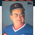 1986 Topps #231 Jim Frey Chicago Cubs