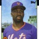 1986 Topps #315 Mookie Wilson New York Mets