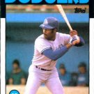1986 Topps #318 Terry Whitfield Los Angeles Dodgers