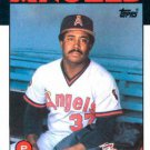 1986 Topps #346 Donnie Moore California Angels